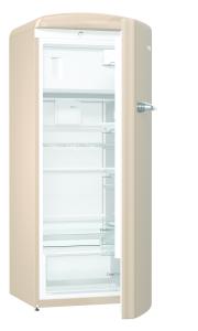 Gorenje ORB 153 CO A+++, B 60 cm , 4* Gefrierfach, IonAir Dynamic Cooling, FreshZone, TA rechts, royal coffee