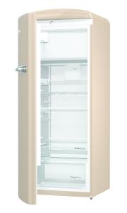 Gorenje ORB 153 CO-L A+++, B 60 cm , 4* Gefrierfach, IonAir Dynamic Cooling, FreshZone, TA links, royal coffee