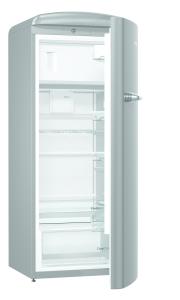 Gorenje ORB 153 X A+++, B 60 cm , 4* Gefrierfach, IonAir Dynamic Cooling, FreshZone, TA rechts, silber