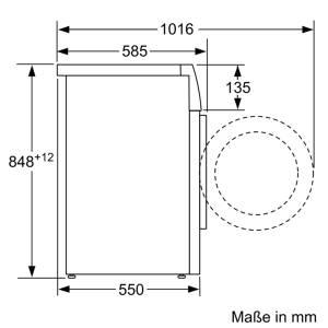 Siemens WM 14 T 4107 kg 1397 Touren EEK: A+++