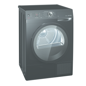 Gorenje D 85 F 66 NB A+++ 8 kg LED-Display schwarz