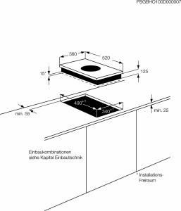 AEG HC 451501 EB 36 cm Autark INDUKTIONS-WOK-KOCHFELD
