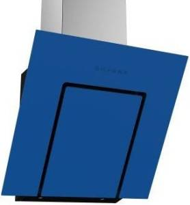 Termikel Köln 60 BL 60 cm EEK: C Vertikale Glas-Wandhaube blau