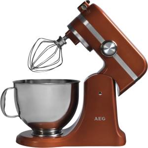 AEG KM 4900 Küchenmaschine 1000 Watt 1,4 PS alpha bronze