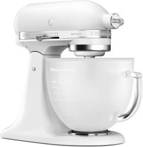 KitchenAid Artisan 5 KSM 156 EFP 4,8 L Milch-Glasschüssel 300 W frosted pearl