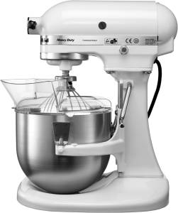KitchenAid Heavy Duty 5 KPM 5 EWH 4,8 L 315 W weiß