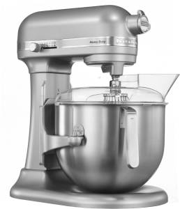 KitchenAid Heavy Duty 5 KSM 7591 XESM 6,9 L 500 W silber metallic