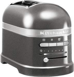 KitchenAid Artisan 5 KMT 2204 EMS Toaster Medaillon-Silber