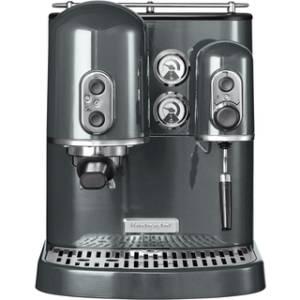 KitchenAid Artisan 5 KES 2102 EMS Espressomaschine medallion silber