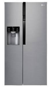 LG GSL 560 PZXVA+ NoFrost Eis-, Crushed Ice- und Wasser spender Edelstahl