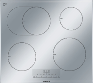 Bosch PIB 679 F 17 E Induktions-Kochstelle 60 cm SteelDesign
