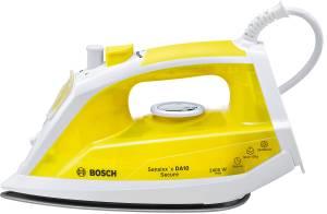 Bosch TDA 1024140 Dampfbügeleisen Sensixx'x DA10 Secure 2400 W weiß / gelb ab Mitte August 2016