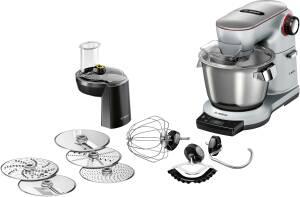 Bosch MUM 9 DX 5 S 31 OptiMUM platinum silver 1500 W Exclusiv