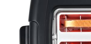 Bosch TAT 6 A 913 ComfortLine Kompakt-Toaster Edelstahl