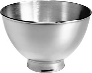 KitchenAid 5KB3SS Zusatzschüssel 3 L Edelstahlschüssel poliert ohne Griff
