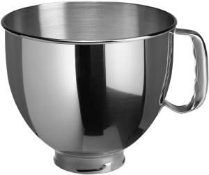 KitchenAid 5 K 5 THSBP Edelstahlschüssel 4,8 L poliert mit Griff