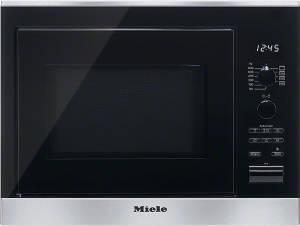 Miele M 6022 SC Edelstahl 800 W Einbau-Mikrowelle CleanSteel