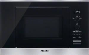 Miele M 6030 SC Edelstahl 800 W Einbau-Mikrowelle