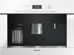 Miele CVA 6401 BRWS Brillantweiß Einbau-Kaffeevollautomat