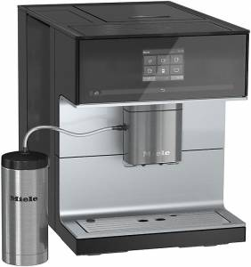 Miele CM 7300 Obsidianschwarz Stand-Kaffeevollautomat