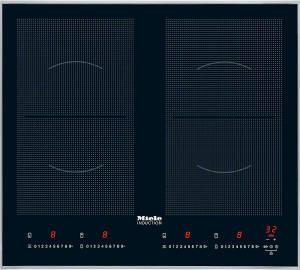 Miele KM 6328-1 Autarkes Flex Induktions-Kochfeld mit Edelstahl Rahmen