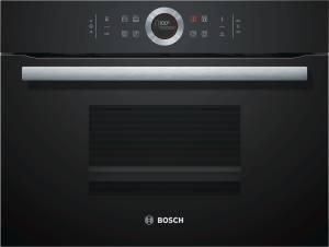 Bosch CDG 634 BB1 Vulkan Schwarz Kompaktdampfgarer