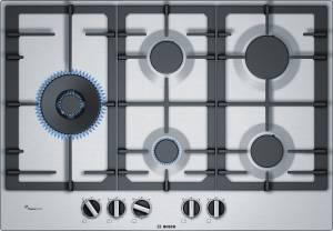 Bosch PCS 7 A 5 C 90 D Wokbrenner 75 cm Gas-Kochstelle Edelstahl