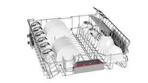 Bosch SMS 46 MW 03 E A++ 60 cm weiß Besteckschublade
