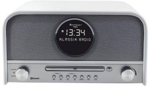 Soundmaster NR 850 weiß Nostalgie Radio DAB+ mit Bluetooth u. CD