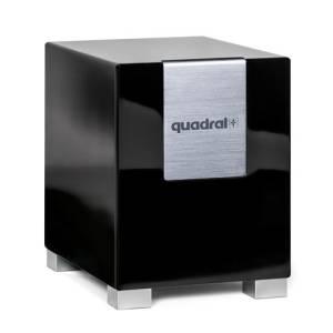 Quadral Qube 8 aktiv schwarz seidenglanz