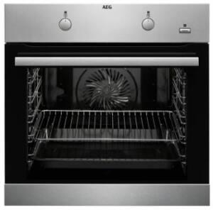 AEG BEB 231 Backofen-Set Autark , 60 cm Glaskeramik Edelstahlrahmen