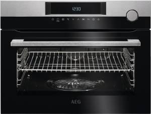 AEG KSK 721210 M Dampfgarer Touch Control-Bedienung Autark Edelstahl mit Antifingerprint 45 cm hoch