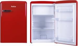 Amica Kühlschrank Retro Türkis : Amica ks r a rot kühlschränke kühlschränke bis cm