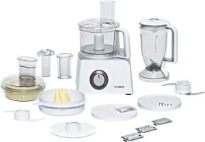 Bosch MCM 4200 Styline weiß / silber Kompakt-Küchenmaschine 800 W