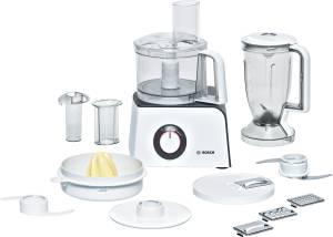 Bosch MCM 4100 Styline 800 W Kompakt-Küchenmaschine weiß / anthrazit