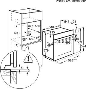 AEG BSK 78222 YM Autark Backofen SteamBoost Kerntemperatursensor Edelstahl
