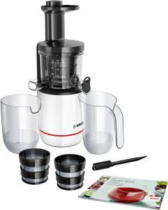 Bosch MESM 500 W Slow Juicer weiß / schwarz Exclusiv