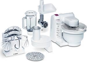 Bosch MUM 4657 Küchenmaschine TheOne weiß / brombeere