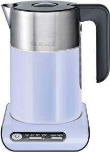 Bosch TWK 8619 P Wasserkocher kabellos french lilac/ black greyy 1,5 L