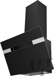 Amica - KH 17402 S Kaminhaube kopffrei 60 cm schwarz Glas