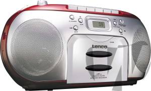 lenco radio cd kassetten player audio portable audio. Black Bedroom Furniture Sets. Home Design Ideas