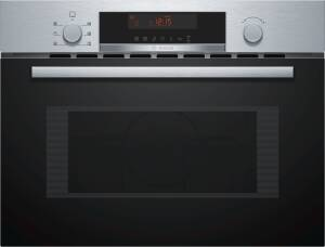 Bosch CM A 583 MS0 Kompaktbackofen mit Mikrowelle 45 cmNische Edelstahl