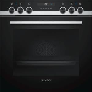Siemens HE 517 ABS 0 Einbauherd cookControl10 schwarz, Edelstahl