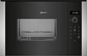 Neff HGB 53 (HLAGD53N0) 900 W Einbau-Mikrowellengerät mit Grill schwarz