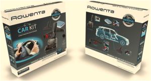 Rowenta ZR 001110 Car Kit 7-teilig Universal Staubsauger Zubehör Mini Turbo Bürste