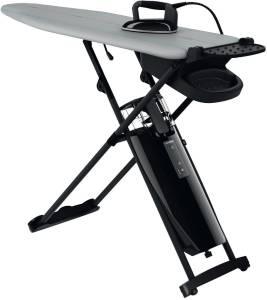LauraStar Smart M Bügelsystem 2200 W Aktivbügelbrett mit Professionelles Bügeleisen, 3D Aktivsohle, Impulsdampf