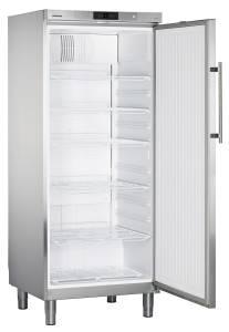 Liebherr GKv 5760-23 EEK: C Edelstahl Umluftkühlung Gewerbekühlschrank