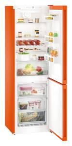 Liebherr CNno 4313-20A++ NoFrost DuoCooling Flaschenbord neon orange