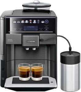 Siemens TE 657 F 09 DEExtraklasse Kaffeevollautomat dark inox