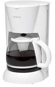 Bomann - KA183CB ws Kaffeeautomat Glaskanne